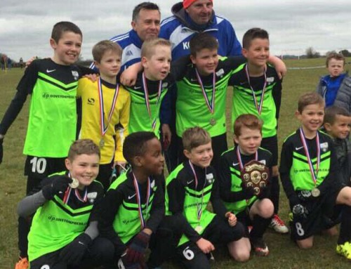 Trowbridge Rangers under 9s – Cup victory