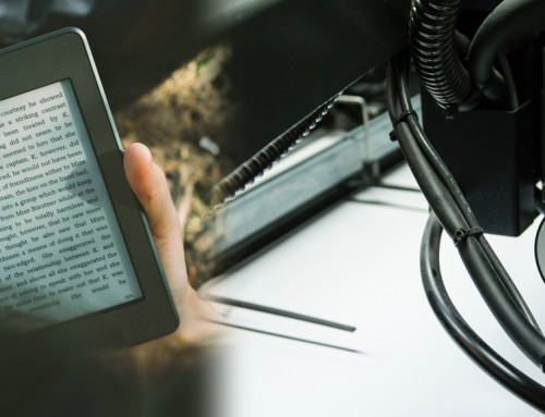 The Battle between E-Books and Print