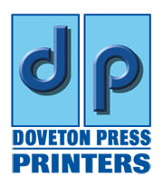 Doveton Press Printers in Bristol mobile logo
